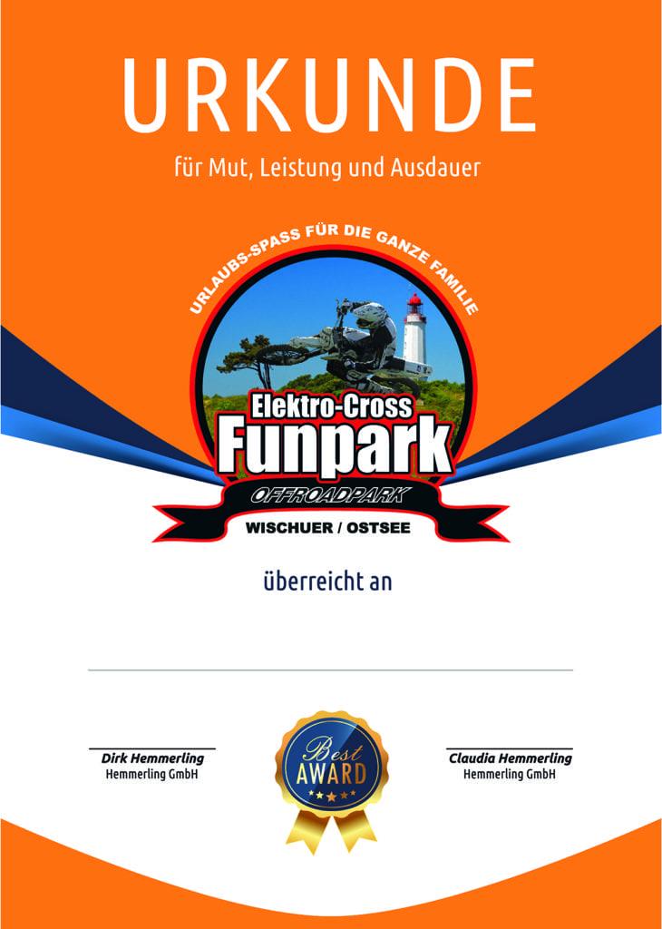 Urkunden Funpark 2017