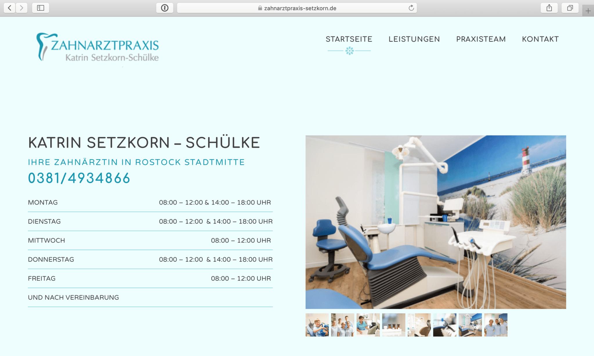 zahnarztpraxis-setzkorn.de 1
