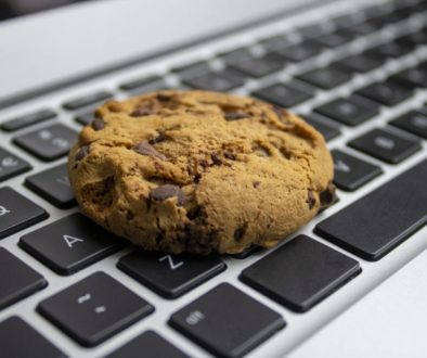 Cookie on the keyboard